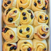 Blueberry Lemon Buns